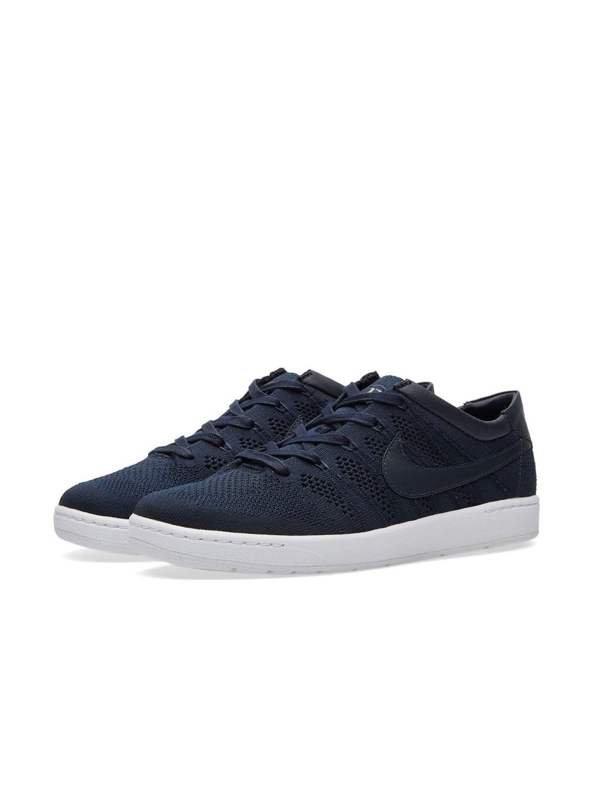 Nikelab Zoom Tennis Classic Ultra Flyknit RF Dark Obsidian White - MORE by Morello Indonesia