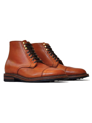 Oakstreet Bootmakers Bourbon Calf Dainite Lakeshore Boot - MORE by Morello - Indonesia
