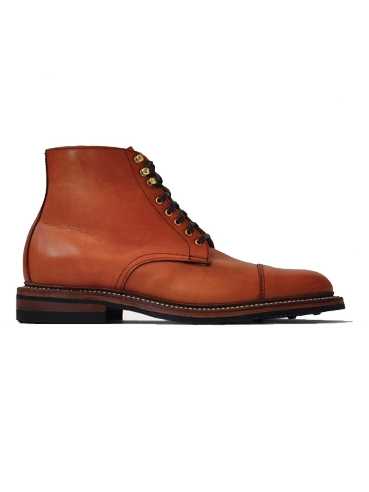 Oakstreet Bootmakers Bourbon Calf Dainite Lakeshore Boot - MORE by Morello Indonesia