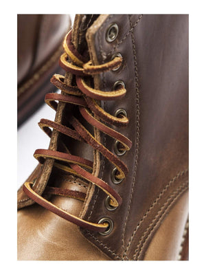 Oakstreet Bootmakers Natural Dainite Captoe Trench Boot - MORE by Morello