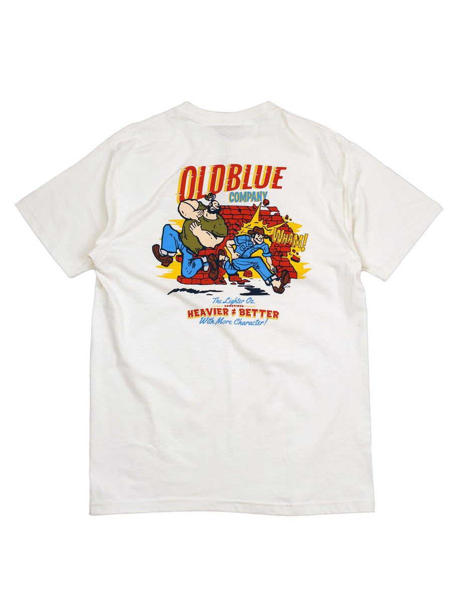 Oldblue Co. Tee The Lighter Ounce Ivory - MORE by Morello Indonesia