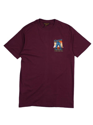 Oldblue Co. Tee The Plundering Jean Maroon - MORE by Morello Indonesia