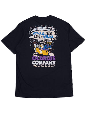 Oldblue Co. Tee The Shrink In Black