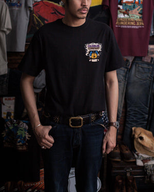 Oldblue Co. Tee The Shrink In Black - MORE by Morello Indonesia
