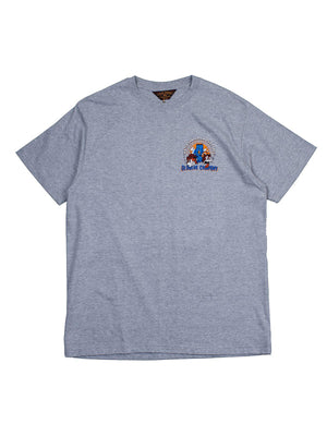 Oldblue Co. Tee The Water Dodgin' Ash Grey - MORE by Morello Indonesia