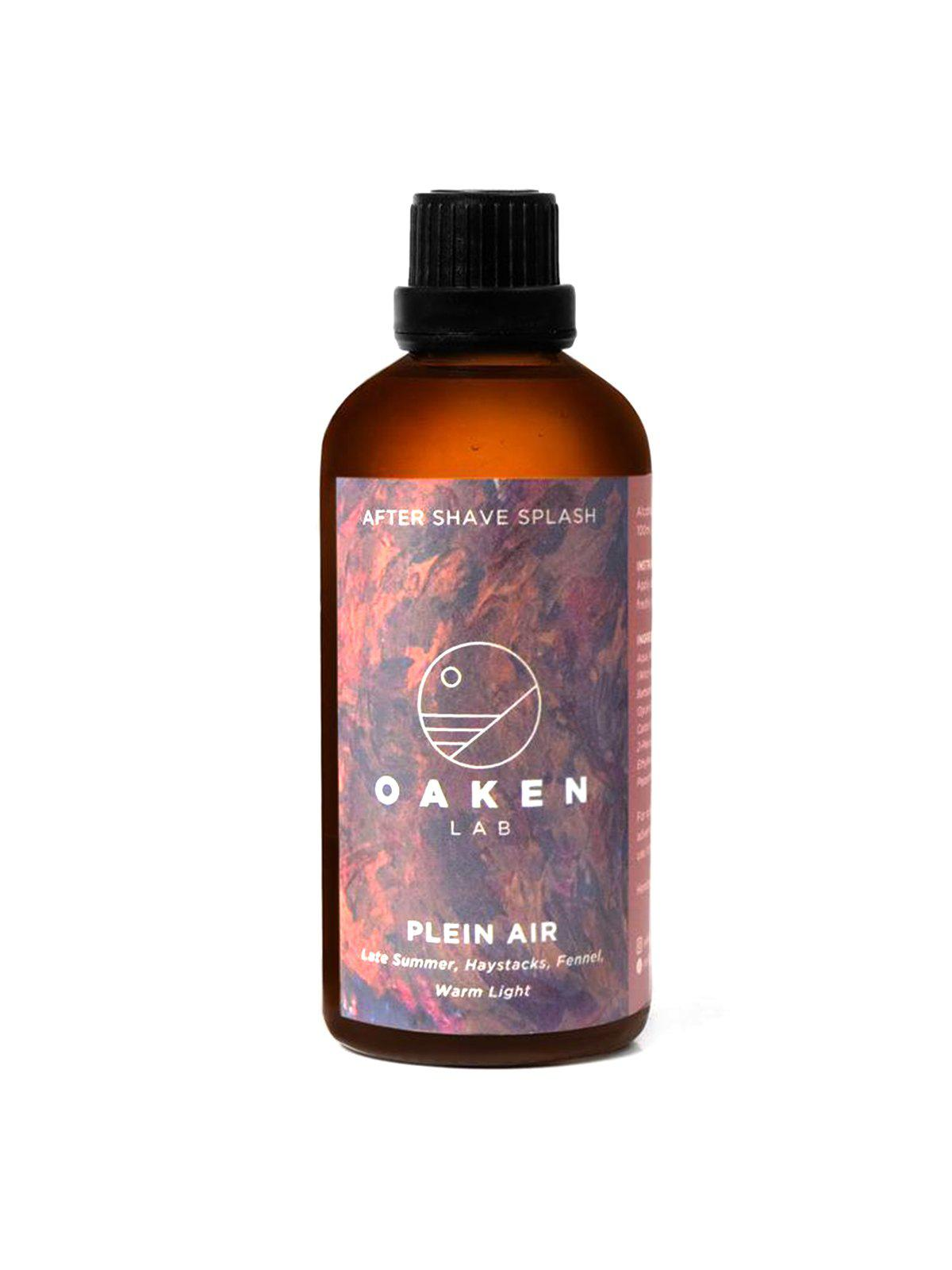Oaken Lab Aftershave Splash Plein Air 100ml - MORE by Morello Indonesia