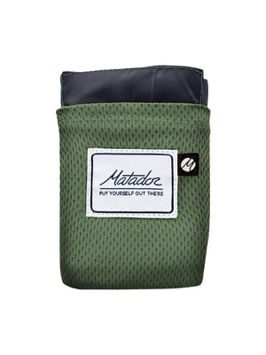 Matador Pocket Blanket 2.0 Alpine Green - MORE by Morello Indonesia