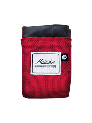 Matador Pocket Blanket 2.0 Original Red - MORE by Morello