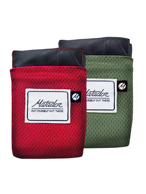 Matador Pocket Blanket 2.0 Original Red - MORE by Morello - Indonesia