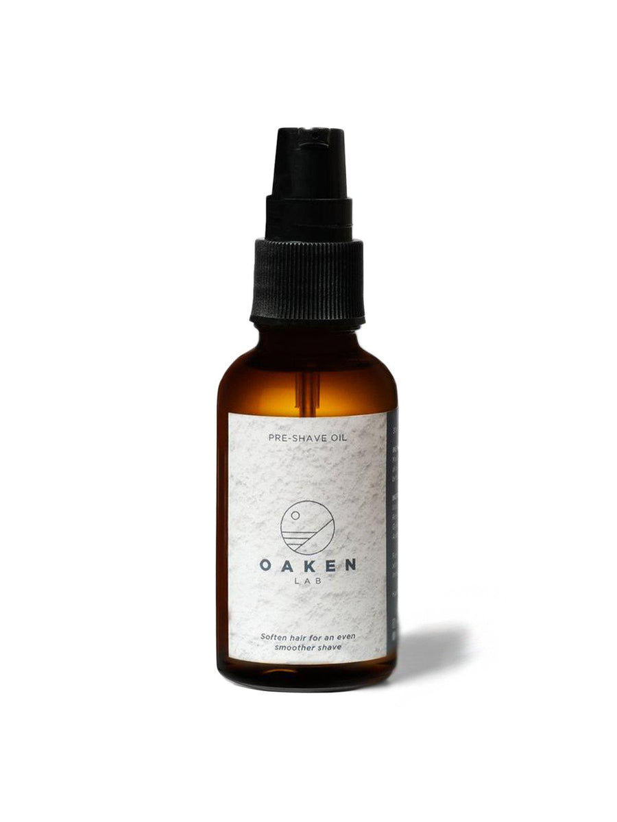 Oaken Lab Pre-Shave Oil 30ml - MORE by Morello Indonesia