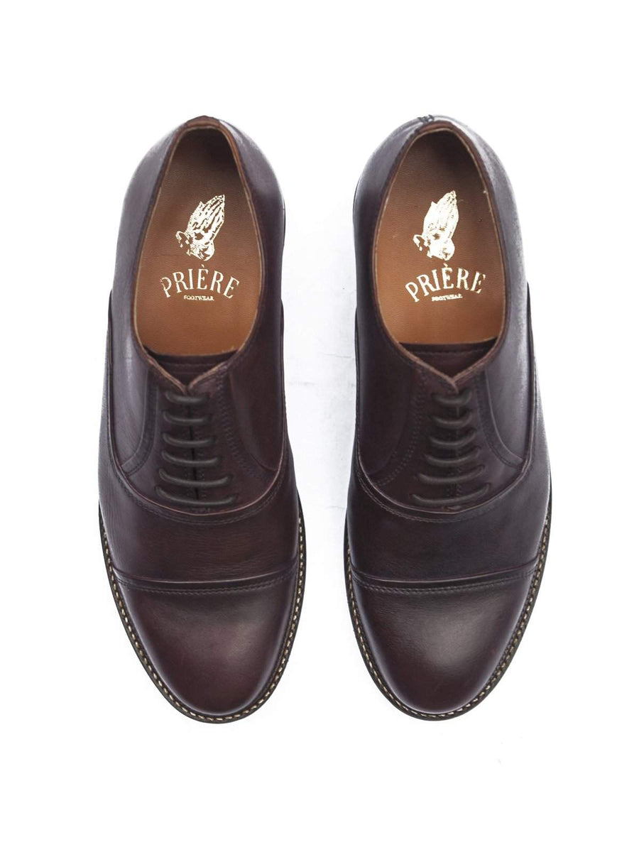 Priere Footwear Oxford Burgundy - MORE by Morello - Indonesia