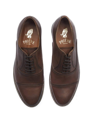 Priere Footwear Oxford Brown - MORE by Morello