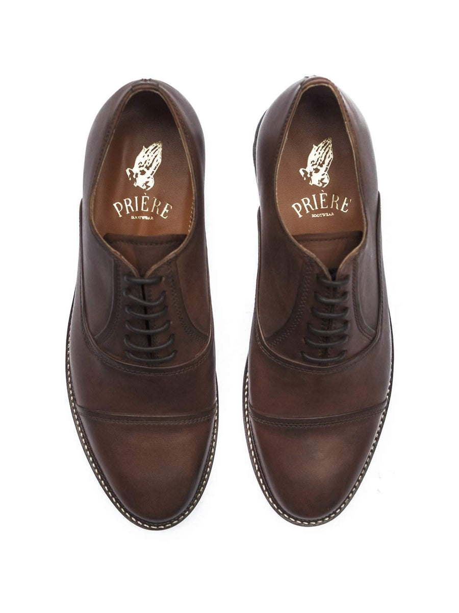 Priere Footwear Oxford Brown-Dress-Priere Footwear-43-MORE by Morello