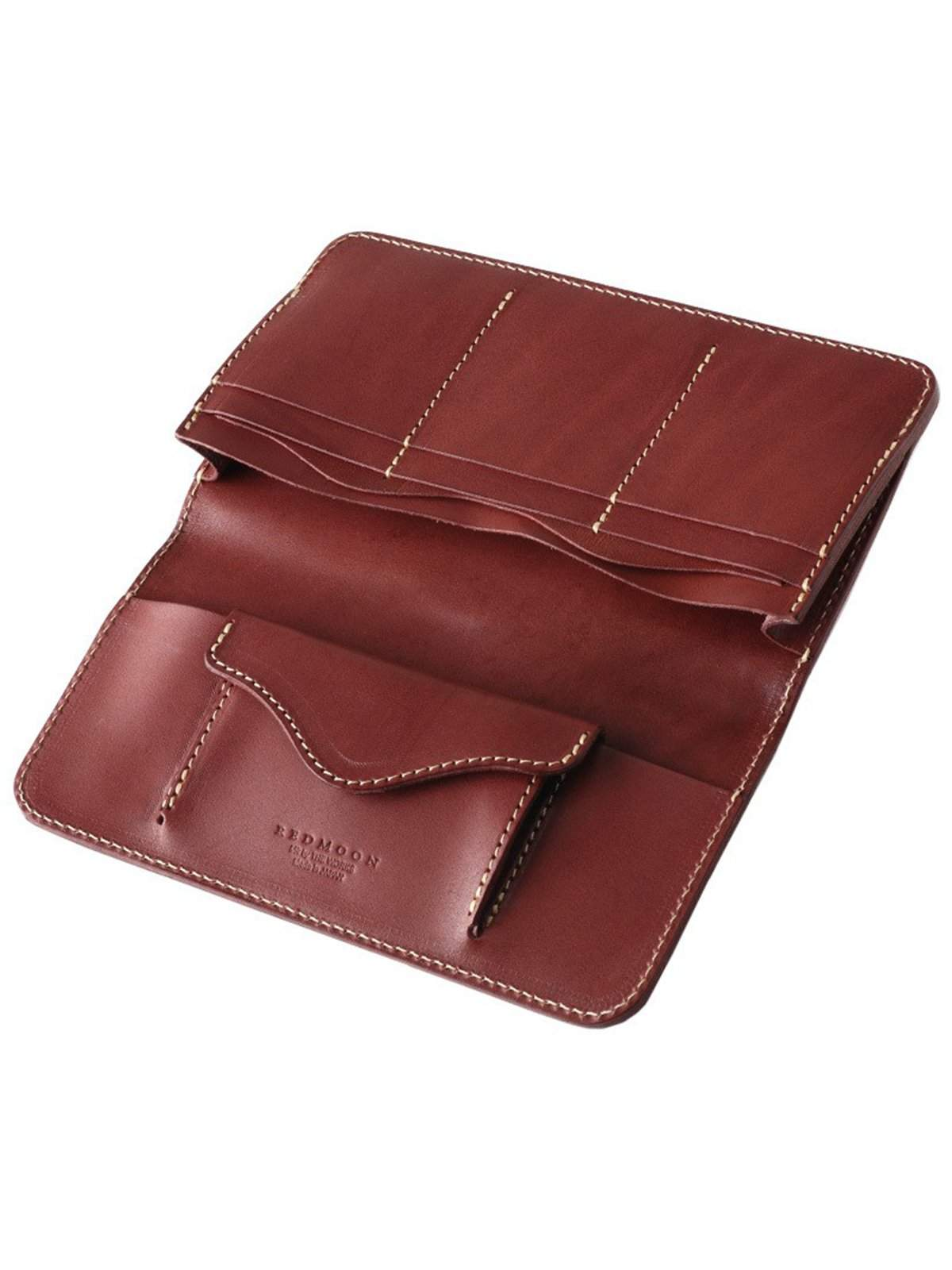 REDMOON Long Wallet RMR-02T DCB Dark Brown - MORE by Morello Indonesia