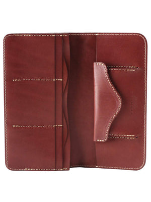 REDMOON Long Wallet RMR-02T DTN Red Brown - MORE by Morello Indonesia