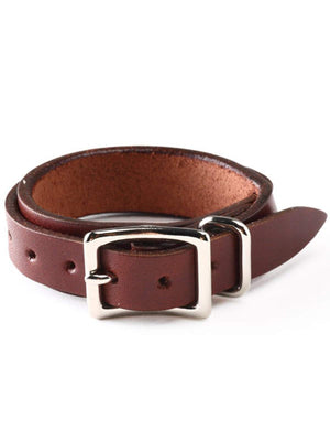 REDMOON Leather Bracelet MWB-B SCB Brown-Small Goods-REDMOON-MORE by Morello