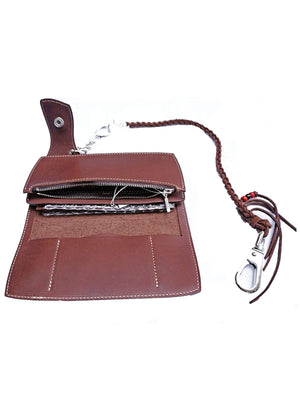 REDMOON Long Wallet NCW-02A CB Brown-Wallets-REDMOON-MORE by Morello