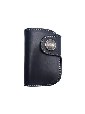 REDMOON Mini Wallet RM-NLC2 SBK Black-Wallets-REDMOON-MORE by Morello