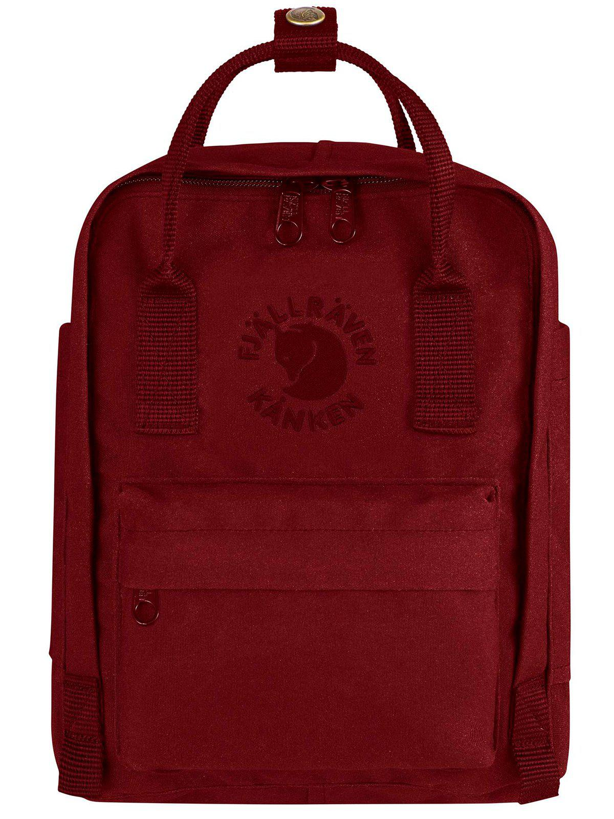 Fjallraven Re-Kanken Mini Backpack Ox Red - MORE by Morello Indonesia