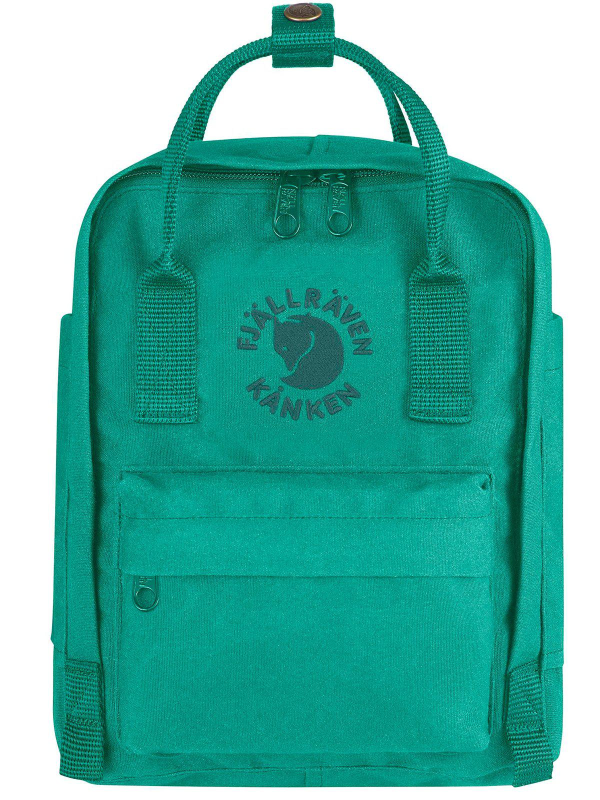 Fjallraven Re-Kanken Mini Backpack Emerald - MORE by Morello Indonesia