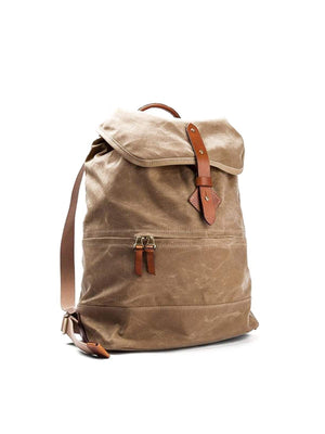 Tanner Goods Voyager Daypack Waxed Field Tan - MORE by Morello