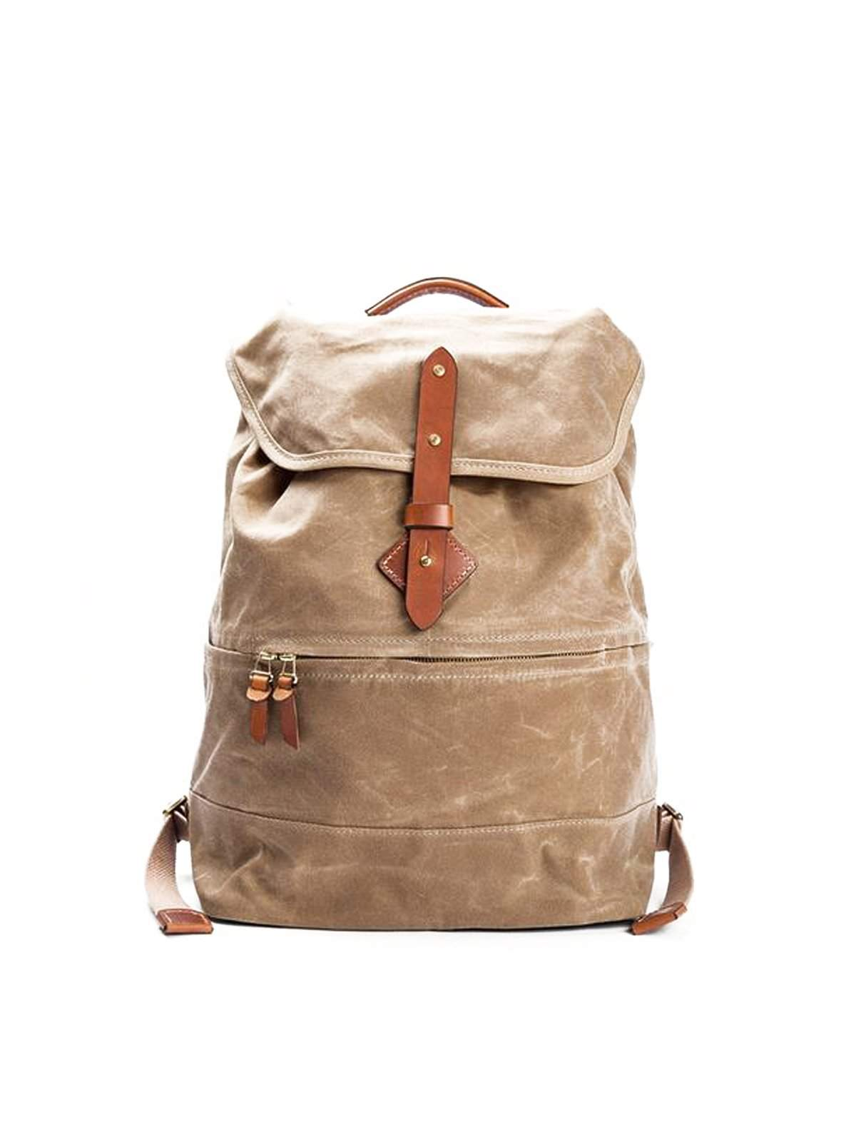 15ae4eea4 Tanner Goods Voyager Daypack Waxed Field Tan - MORE by Morello - Indonesia