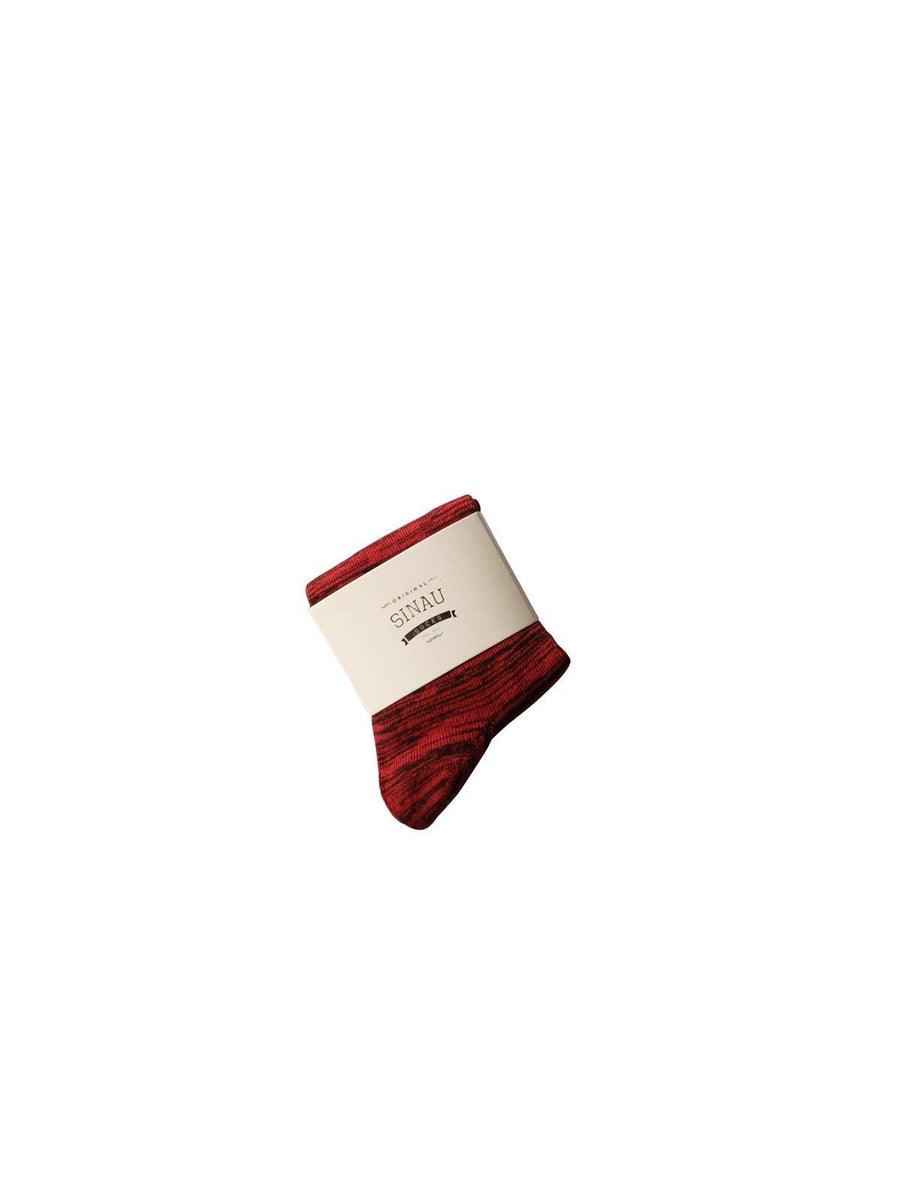 Sinau Socks Sashi Maroon - MORE by Morello - Indonesia