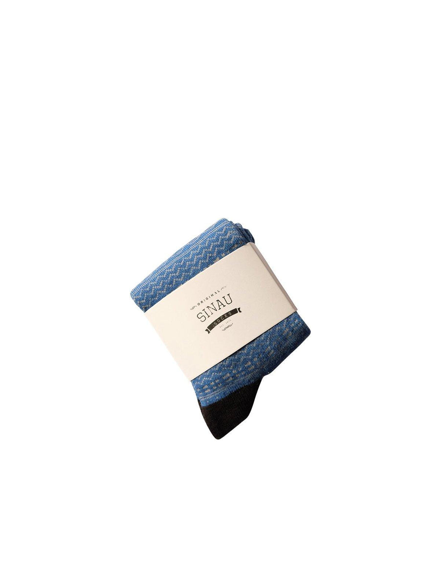 Sinau Socks Igu Blue - MORE by Morello - Indonesia