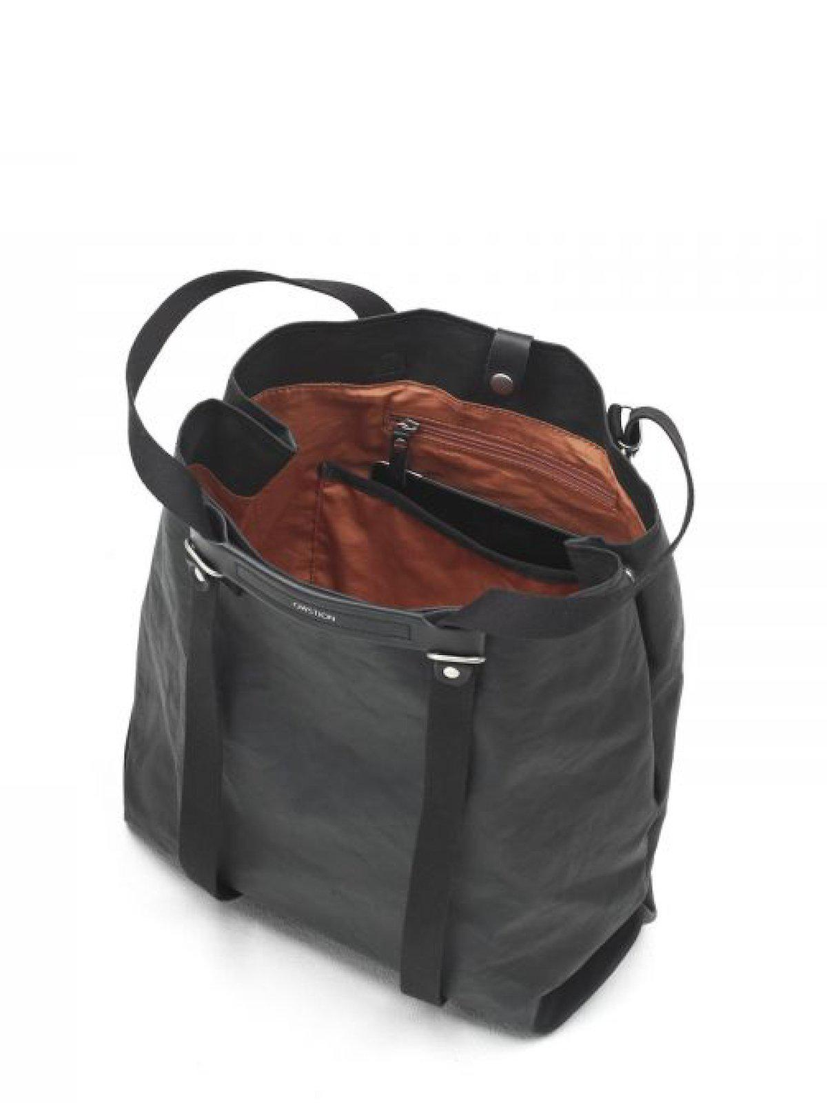 Qwstion Shopper Organic Jet Black - MORE by Morello Indonesia