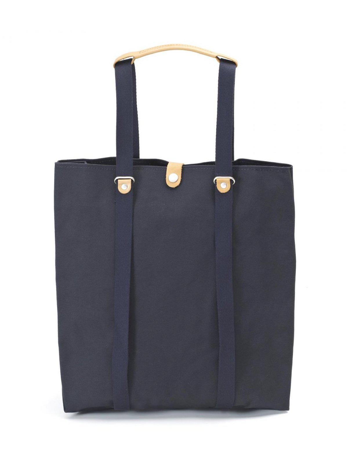 Qwstion Shopper Organic Navy - MORE by Morello Indonesia