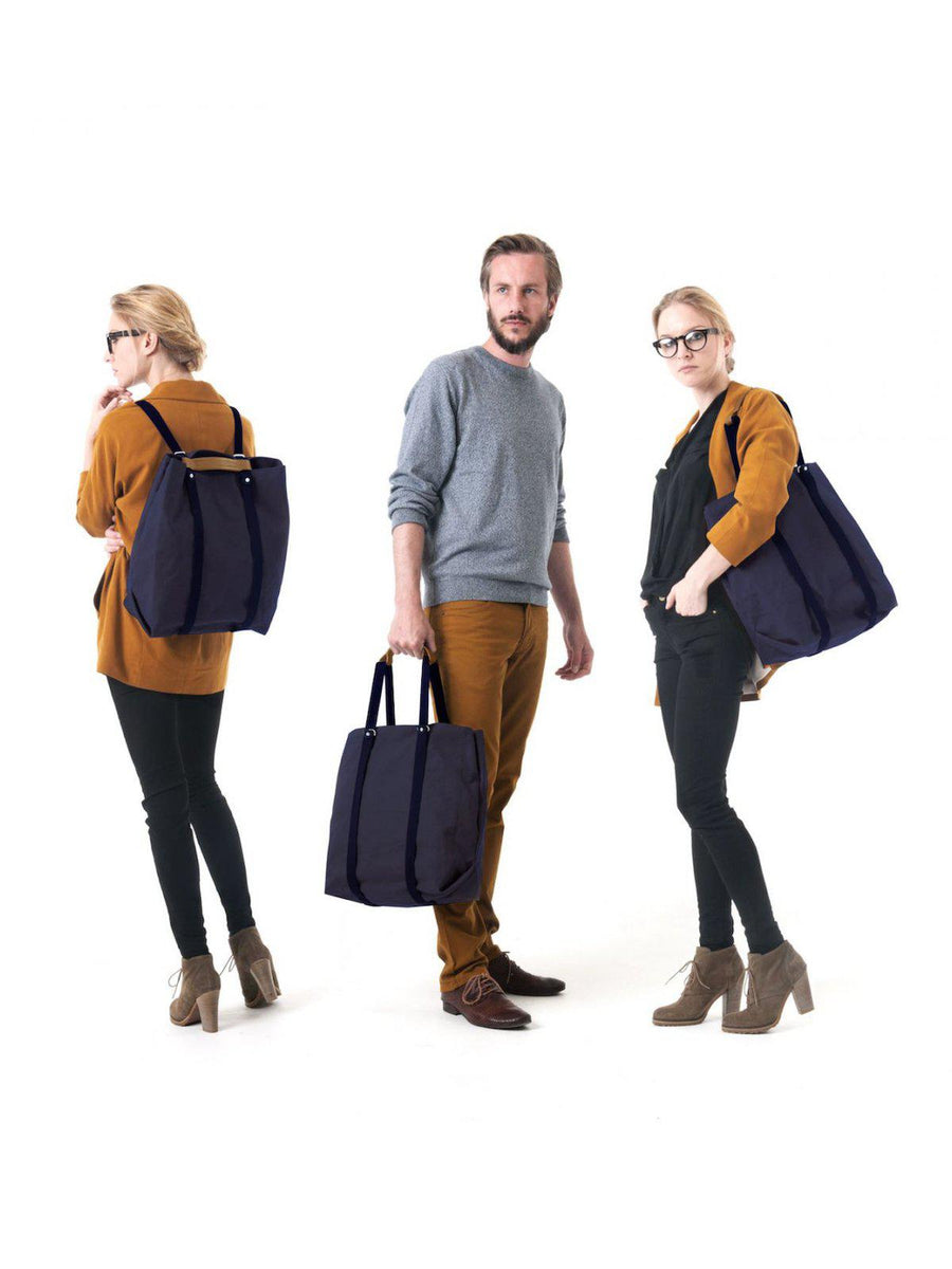 Qwstion Shopper Organic Navy - MORE by Morello - Indonesia