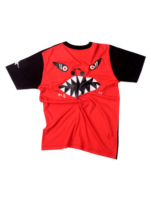 US Comp4ny Sherman Tank Tees Black Red