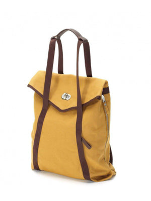 Qwstion Tote Honey Mustard