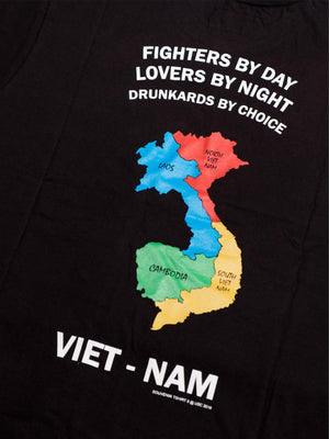 US Comp4ny Vietnam Tees Black - MORE by Morello - Indonesia