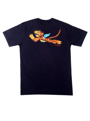 US Comp4ny Flying Tiger Tees Dark Navy