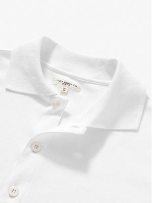 Lady White Co. Placket Polo White - MORE by Morello - Indonesia