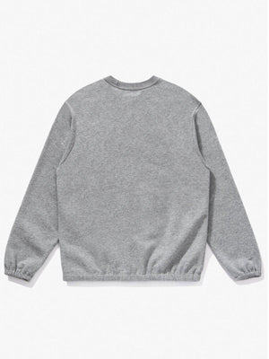 Lady White Co. Sport Crewneck Heather Grey - MORE by Morello - Indonesia