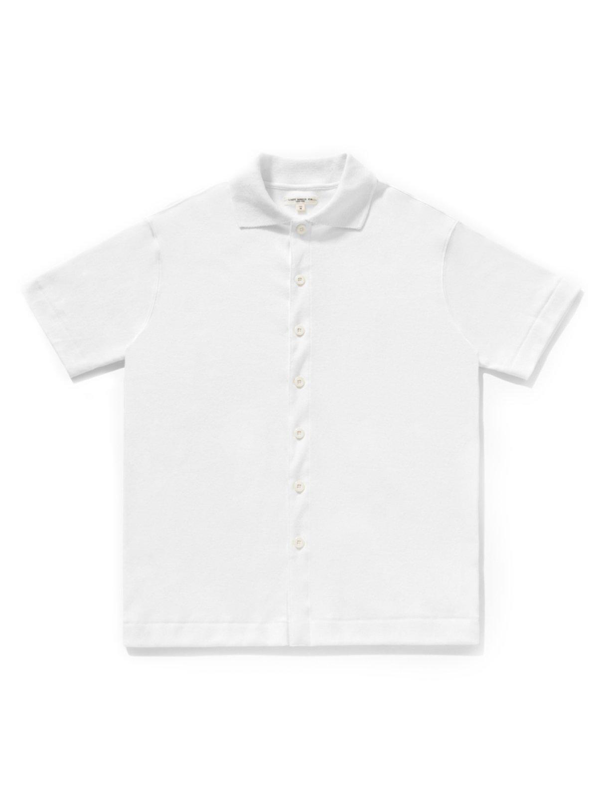 Lady White Co. Placket Polo White - MORE by Morello Indonesia