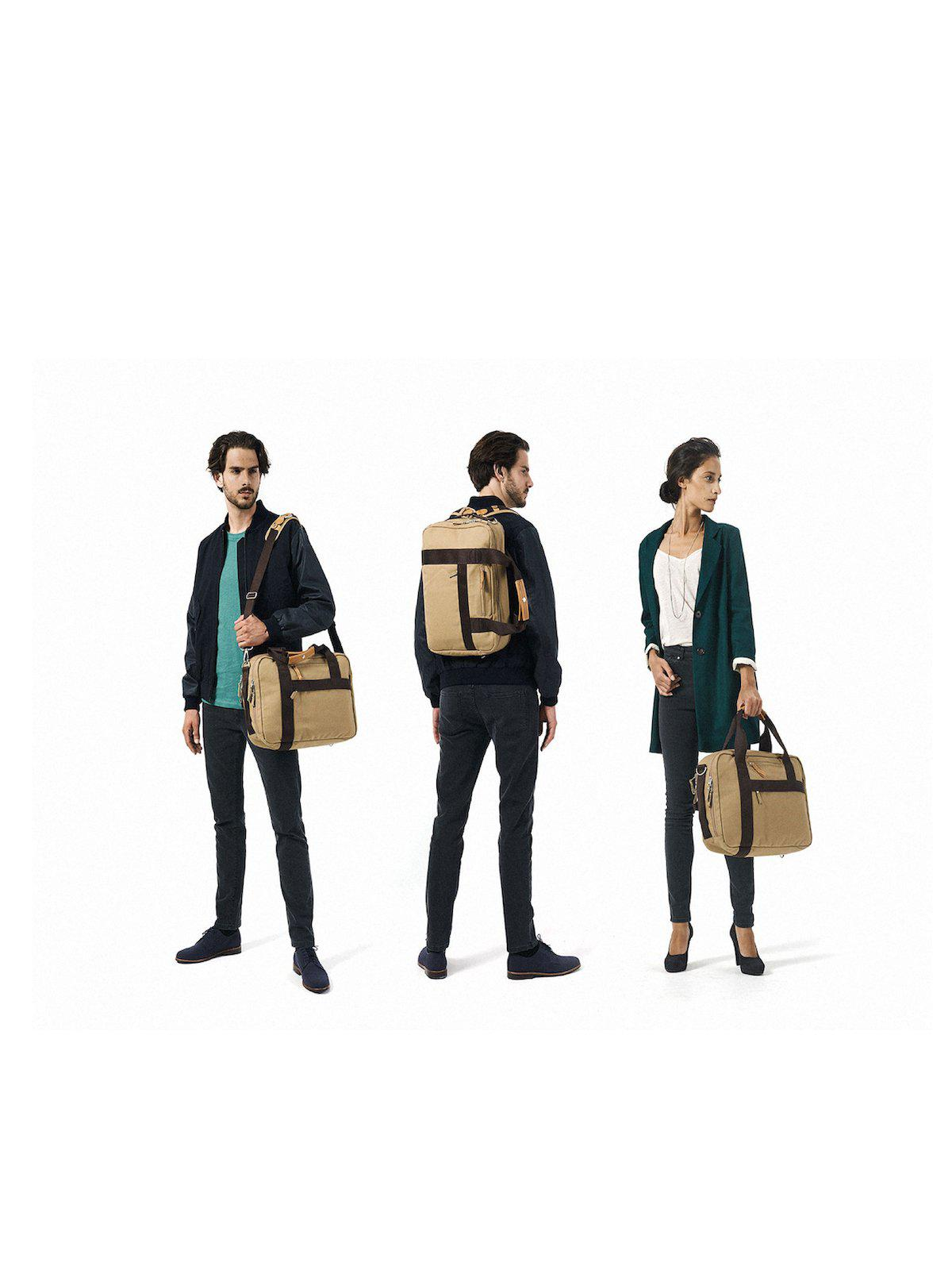 Qwstion Office Bag Organic Camel - MORE by Morello Indonesia