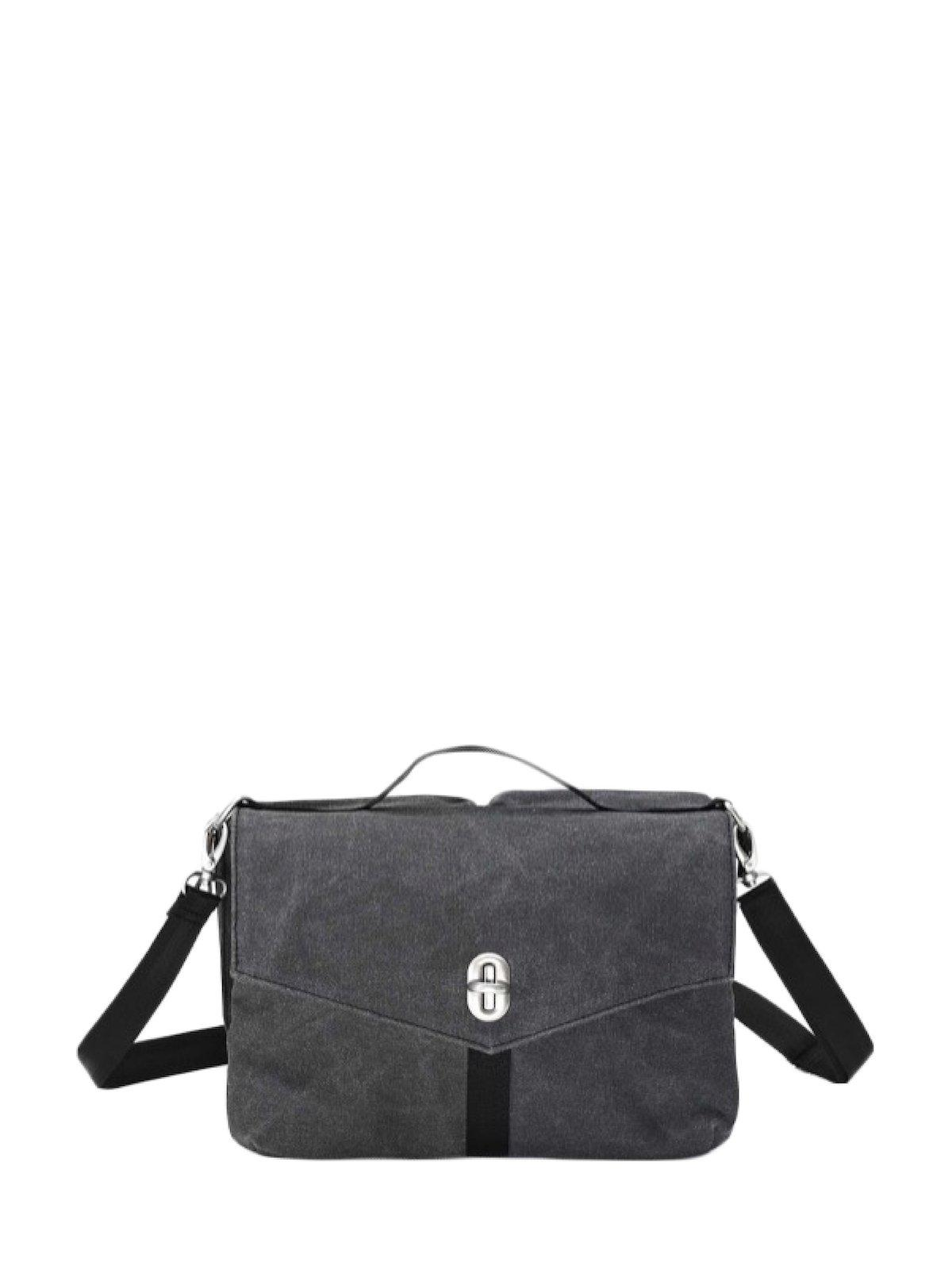 Qwstion Shoulder Bag Washed Black - MORE by Morello Indonesia