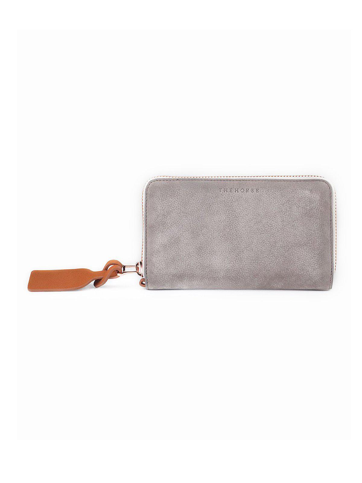 The Horse Block Wallet Grey - MORE by Morello Indonesia
