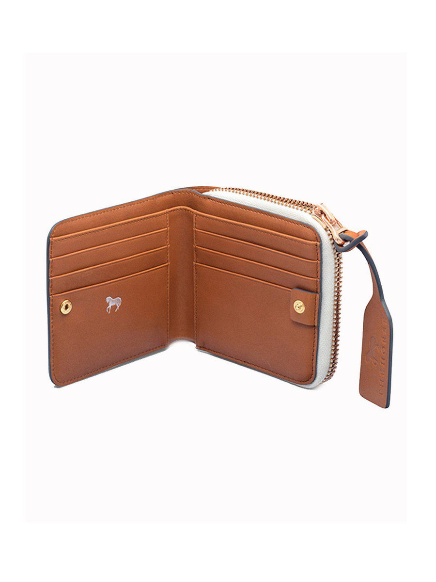 The Horse Mini Block Wallet Tan - MORE by Morello - Indonesia