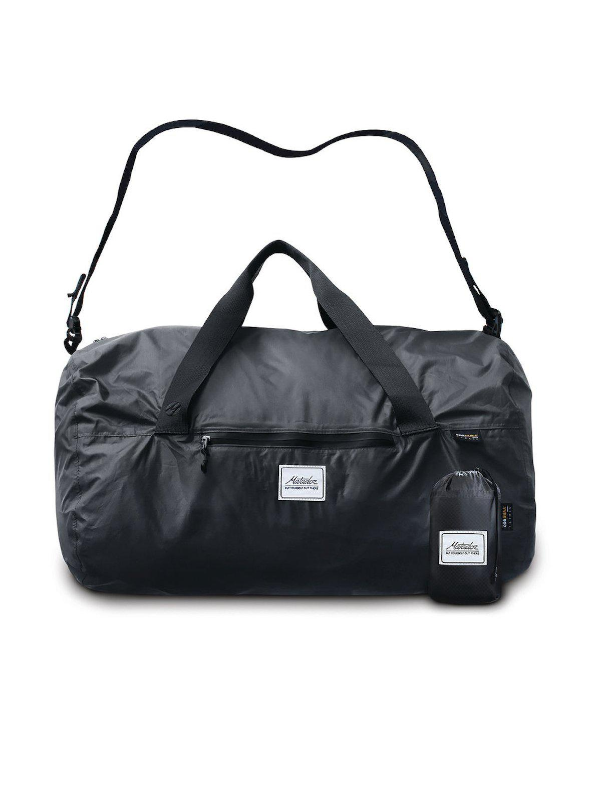 Matador Transit16 Pocket Duffle Bag Charcoal Grey - MORE by Morello Indonesia