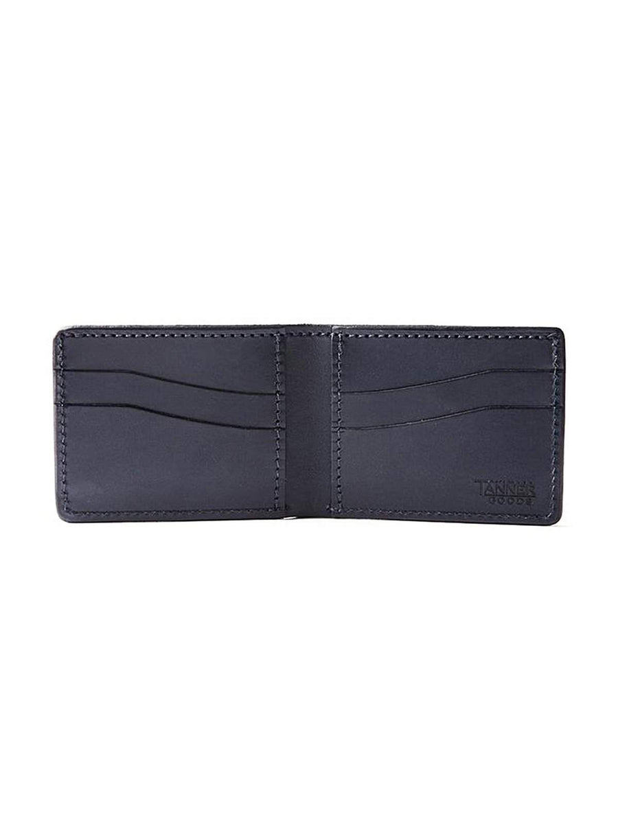 Tanner Goods Utility Bifold Wallet Black - MORE by Morello
