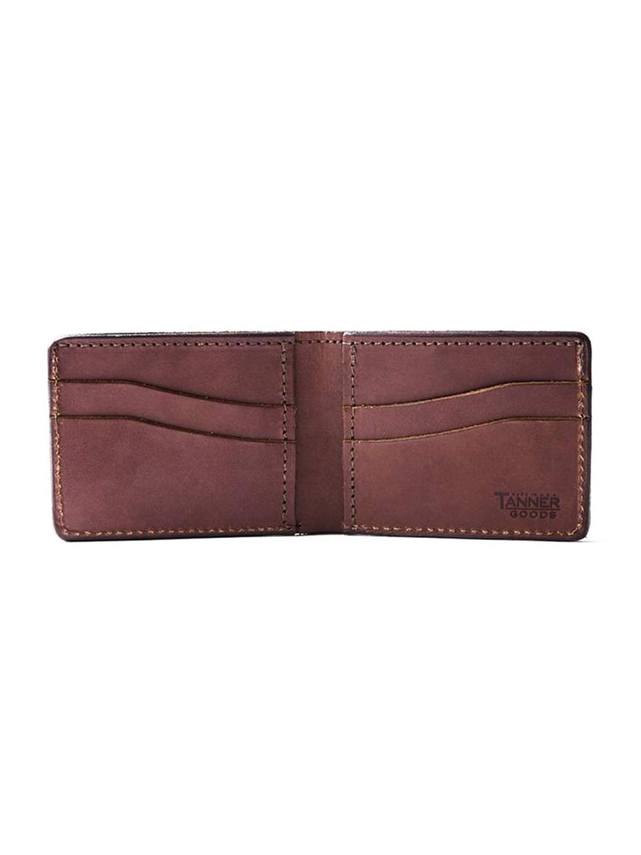 Tanner Goods Utility Bifold Wallet Cognac-Wallets-Tanner Goods-MORE by Morello