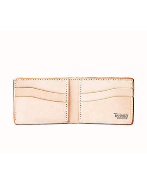 Tanner Goods Utility Bifold Wallet Natural - MORE by Morello Indonesia