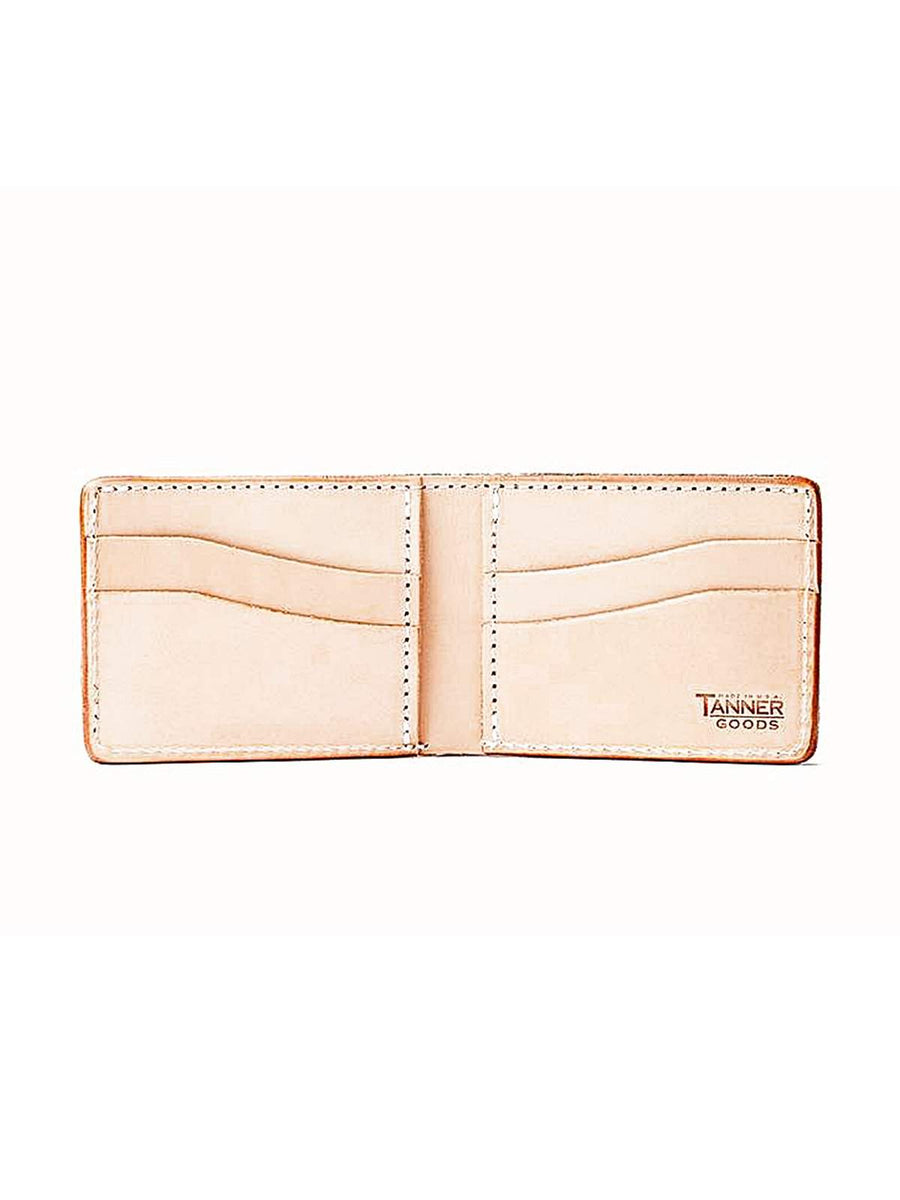 Tanner Goods Utility Bifold Wallet Natural-Wallets-Tanner Goods-MORE by Morello