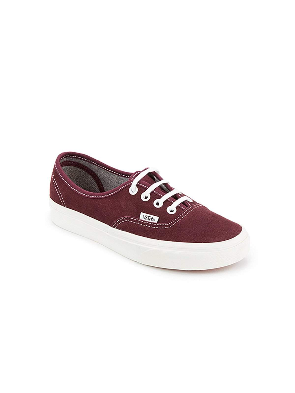 db6c7c1f31b Vans Authentic Trainers Varsity Suede Red - MORE by Morello - Indonesia