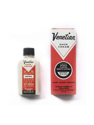 Venetian Shoe Cream - Neutral (All Colours) 3oz - MORE by Morello - Indonesia