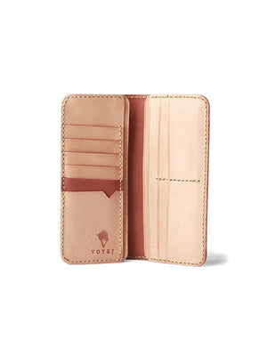 Voyej Challenger Light Brown Long Wallet-Wallets-Voyej-MORE by Morello